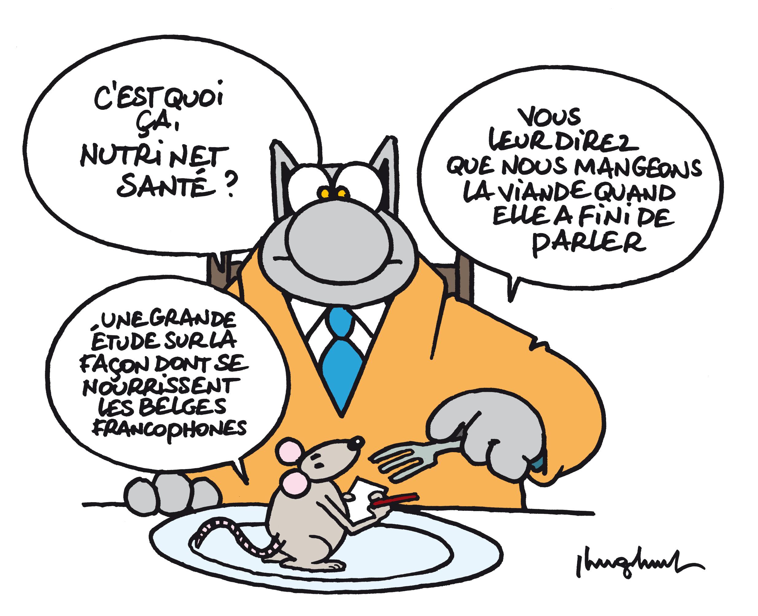 L enqu te nutrinet sant se d ploie en belgique for Que manger entre amis